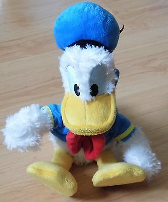 Walt Disney World - Disneyland Resorts - Donald Duck Soft Toy 20cm *Ex Condition