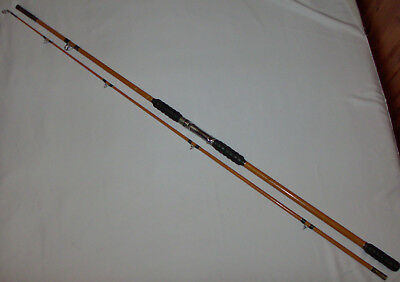 Old school fishing rod picclick uk for Best pier fishing rod