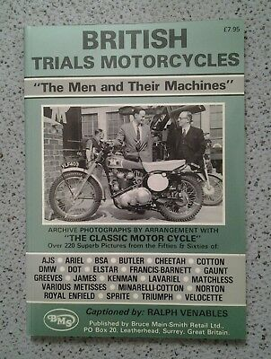 British Trials Motorcycles (Bruce Main-Smith Publication)