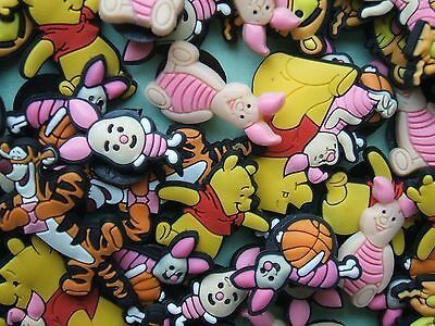 SHOE CHARMS (V1) inspired by  WINNIE, TIGGER, PIGLET