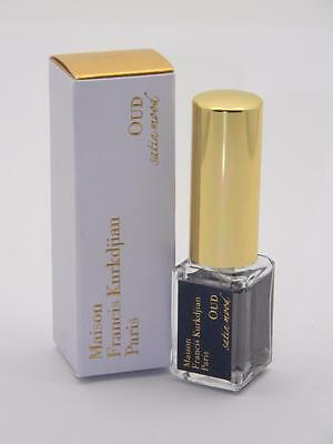 Maison Francis Kurkdjian OUD SATIN MOOD 5ml 0.17 oz Deluxe Sample / Travel Spray