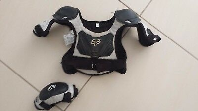 Fox Pee Wee chest and elbow protectors - S/M