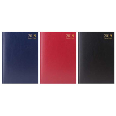 2019 Diary A4 A5 Diary Day to Page or Week to View Desk Diary Hard Backed Diary
