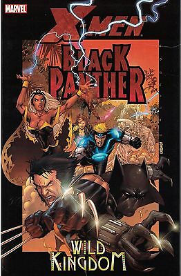 X-Men Black Panther  Wild Kingdom SC TP New  OOP