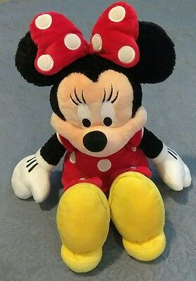"Disneyland Walt Disney World Theme Parks Resort Minnie Mouse 15"" Plush Doll"
