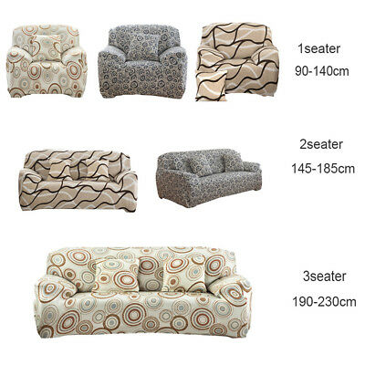 SureFit Stretch Couch Sofa Lounge Cover Recliner 1 2 3 Seater and Dining Chair