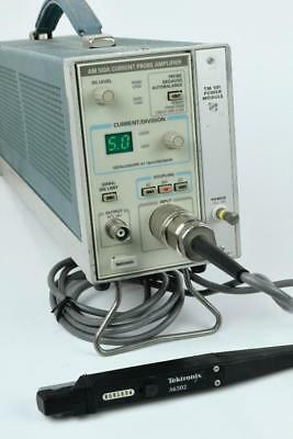 Tektronix A6302 AC/DC 50 Mhz Current Probe, AM503A Amp, TM501, Manual, TESTED