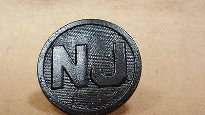 WWI New Jersey Collar Disk