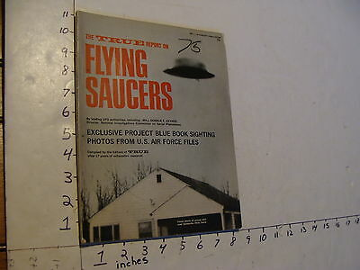 Vintage UFO info: the true report on  FLYING SAUCERS NO. 1 : 1967