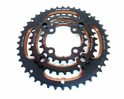 New Chainring set MTB  44T 32t 104 BCD  22t  64B CD CNC shimano sram replacement