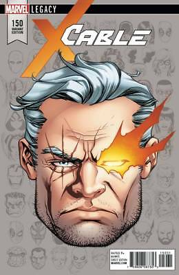 CABLE #150 LEGACY Headshot 1:10 Variant Marvel Comics NM Presale 10/17/2017
