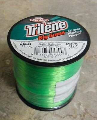 Berkley Trilene Big Game Mono Fishing Line, Solar Collector - 25lb - 595yds