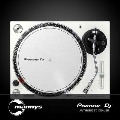Pioneer PLX500 Turntable in White (Cartridge Included)