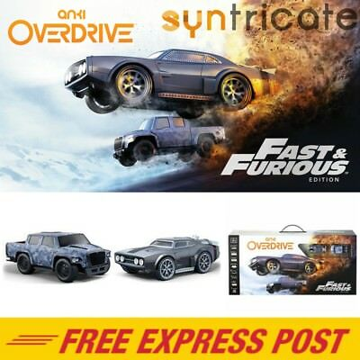 Anki Overdrive Fast & Furious Edition Robotic Supercar Starter Kit