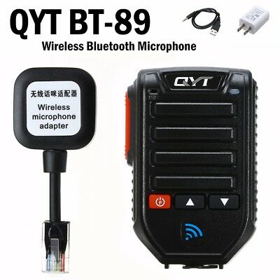 BT89 Wireless Bluetooth Microphone 10 Meters For QYT KT-7900D KT-8900D Car Radio