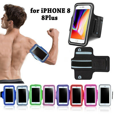 For Apple iPhone 8 / 8 Plus Sports Gym Running Joging Armband Case Cover Holder