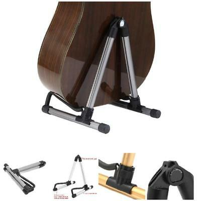 A-Frame For Acoustic Bass Guitars Floor Holder Portable Guitar Stand Foldable