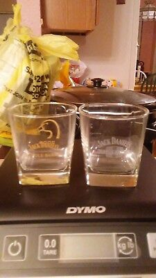 Pair of Jack Daniels Large Shot Glasses
