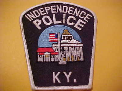 Independence  Kentucky  Police Patch New Shoulder Size New