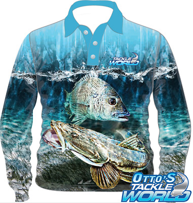 Tackle World Elite Fishing Shirt - Southern Series Bream and Flathead
