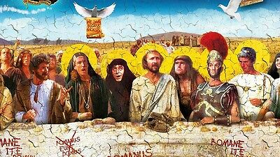 Monty Python's Life Of Brian John Cleese The Last Supper BBC Sticker or Magnet