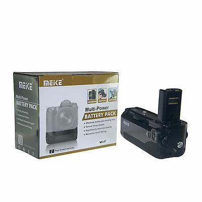 Meike MK-A7 Pro Vertical Camera Battery Grip as VG-C1EM for Sony A7 A7r A7s