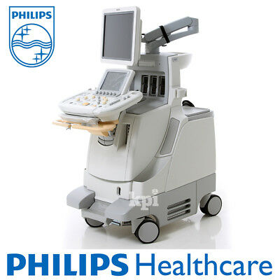 3D/4D PHILIPS iU22 Ultrasound System Shared Service Machine w/ G-CART & Probe