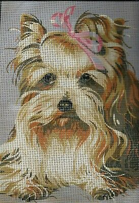 TRIXIE- SILKY TERRIER- Rare needlepoint tapestry to stitch - 40 X 30 CM RUN OUT!