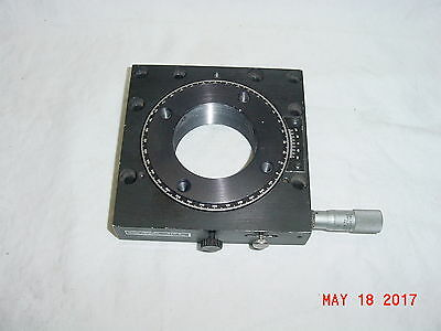 Nrc Newport Model 470 A  Rotary Stage & Micrometer