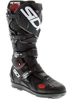 Sidi Black-Black Crossfire 2 SRS MX Boot