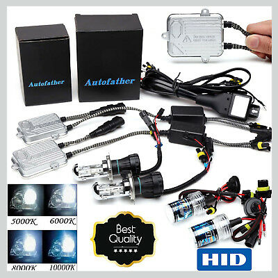 Hid Xenon Conversion Kit 9006 H1 H3 H4 H7 H11 9005 Headlight Bulb 55W Ballast 2x