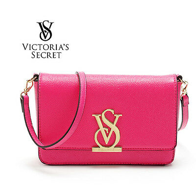 Victoria's Pink Crossbody Bag VS Clutch With Strap, New