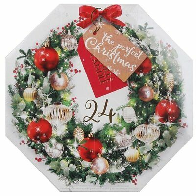 Yankee Candle Christmas Wreath Advent Calendar 2017 Scented Candles Gift Set