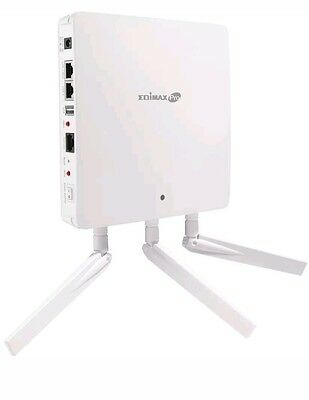Edimax WAP1750 3 x 3 AC Dual-Band Wall-Mount PoE Access Point Easy Installation