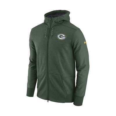 Nike NFL Green Bay Packers FZ Travel Hoodie