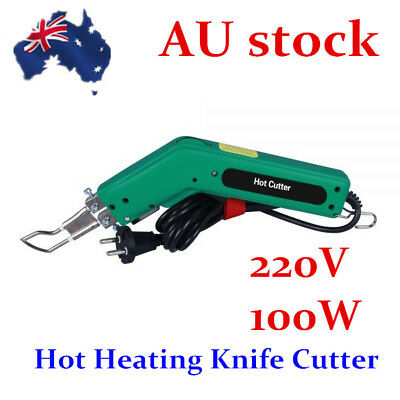 AU-100W Practical Hand Held Hot Heating Knife Cutter for Rope & Fabric Cutting