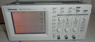 Tektronix TDS210 TDS 210 60MHz 2 Channel Digital Real Time Scope Oscilloscope