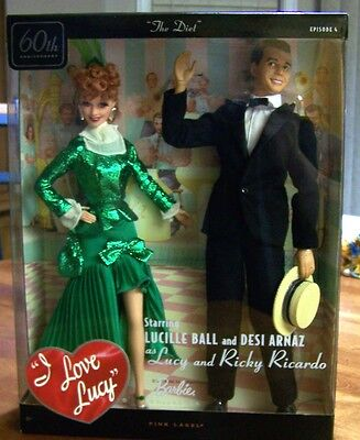 I Love Lucy Episode 4 - Lucy & Ricky 60th Anniversary - Mattel 2010 - New