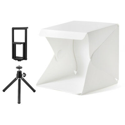 LED Light Room Photography Studio Lighting Tent Kit Cube Box + Mini Tripod LF799