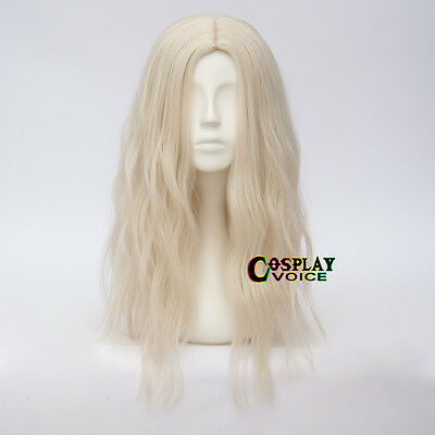 50cm Long Curly Basic Daily Lolita Women Daily Party Light Blonde Cosplay Wig
