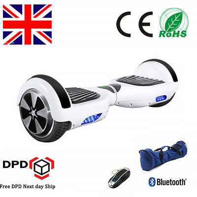 New SELF BALANCING SCOOTER ELECTRIC BLUETOOTH BALANCE BOARD 2 WHEELS+REMOTE
