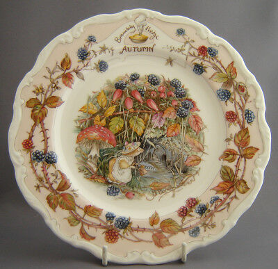 Royal Doulton Brambly Hedge *Autumn Plate*