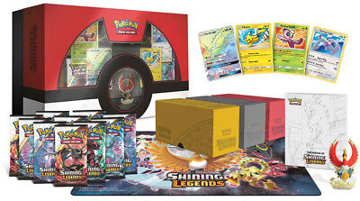 US Exclusive Shining Legends Ho-Oh Super Premium Collection Box UK Seller!