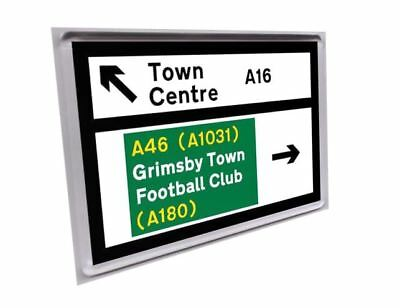 Road sign fridge magnet - Grimsby Town
