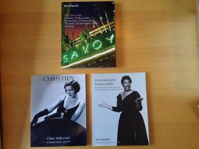 Auction Catalogues from Christie's LA, Sotheby's Beverly HIlls and Bonham's