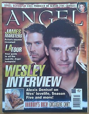 Angel The Official Magazine Issue 2 October 2003 Alexis Denisof James Marsters