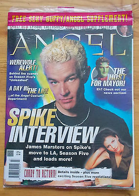 Angel The Official Magazine Issue 7 Feb 2004 James Marsters (Spike) Season Five