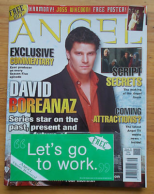 Angel The Official Magazine Issue 16 Halloween 2004 David Boreanaz