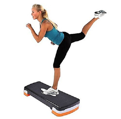 New Home Fitness Adjustable Aerobics Step Exercise Stepper Gym Yoga Board
