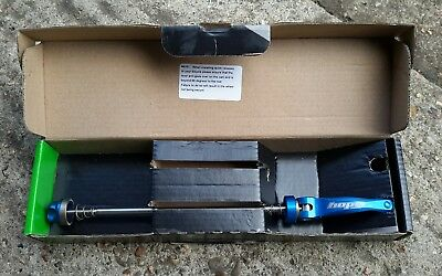 hope quick release rear skewer in blue brand new